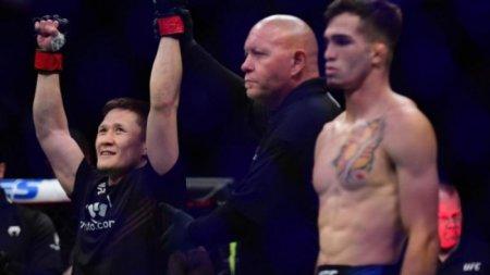 Жалғас Жұмағұлов UFC-дегі алғашқы жеңісіне қол жеткізді